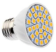 daiwl regulable e27 6w 30xsmd5050 400-500lm 2500-3500k cálida luz blanca llevó bulbo del punto (85-265v)
