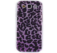 Lila Leopard Muster Hard Case für Samsung Galaxy S3 I9300