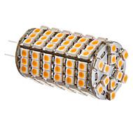 G4 6W 102x3528SMD 420-450LM 3000-3500K Warm wit licht LED Corn Bulb (12V)