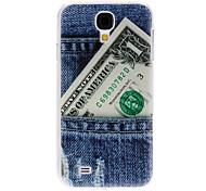 Blue Jeans Pattern Hard Case für Samsung Galaxy i9500 S4