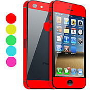 Solid Color Skin Guard mit Black Back Schutzfolie für iPhone 5 (Optional Farben)