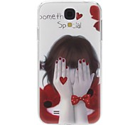 For Samsung Galaxy Case Pattern Case Back Cover Case Sexy Lady PC Samsung S4