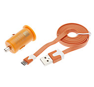 Micro Auto Charger for Samsung Mobile Phone (Assorted Colors)