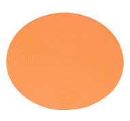 36CM plastica rotondo variopinto tappetino Tavolo Forma