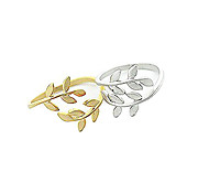 Leaf Open Ring (Assorted Color)