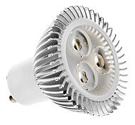 Faretti 3 LED ad alta intesità MR16 GU10 4.5 W 320 LM 2700K K Bianco caldo AC 100-240 V