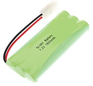 1800mAh AA Battery Pack (Green, 7.2V)