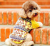 Cotton Little Bears Pattern T-shirt for Pets Dogs (Assorted Colors, Sizes)