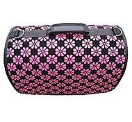 Motif rose de sac de porteur de fleur avec bretelles pour Pets Dogs (couleurs assorties, tailles)