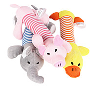 Animal Shaped Textile Toy for Dogs(Random Color)