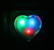 Loving Heart Shaped Colorful LED Night Light