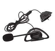 Monaural Headset Headphone with Microphone for Microsoft XBOX 360 - 2.5mm
