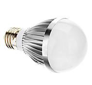 5W E26/E27 Lampadine globo LED A60(A19) 10 SMD 5730 350 lm Luce fredda AC 220-240 V