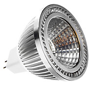 6W GU5.3(MR16) Faretti LED MR16 1 COB 400 lm Bianco caldo DC 12 / AC 12 V
