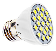 3W E14 / E26/E27 LED Spotlight MR16 21 SMD 5050 240 lm Warm White / Cool White AC 220-240 / AC 110-130 V