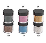 Caviar Top Coat Nail Art Decorations NO.7-13(1PCS,Assorted Colors)