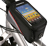 ROSWHEEL 4.8 Inch Bicycle Front Bag with Transparent PVC Touchable Mobile Phone Screen