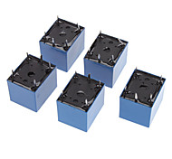 5pcs Mini Power Relay 12V DC SRD-12VDC-SL-C PCB de type