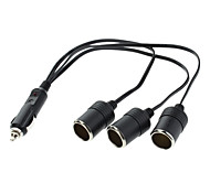 1-to-3 Car Charger Power Line for Cars
