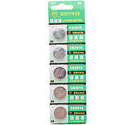 CR2016 3V Lithium Cell Button Battery (10-Pieces Pack)