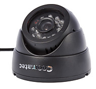 Coomatec DVRCam CCTV SD Card DVR-Dome-Kamera (1/4 Zoll CMOS, AV-OUT)