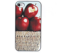 Basketful Apples Pattern Back Case for iPhone 4/4S