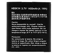 1400mAh remplacement de batterie Li-ion pour HUAWEI HB5K1H (3.7V)