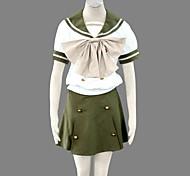 cosplay uniforme estiva ispirata Shakugan no Shana