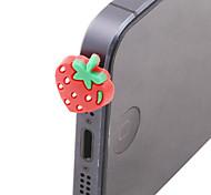 Cartoon Strawberry Anti-dust Plug