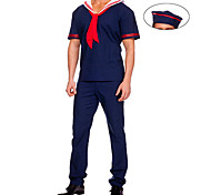 Sailor Dark Blue Suit Men's Costume (3 pieces)