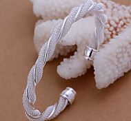 Silver Bracelet  Lknspcb020 Jewelry Christmas Gifts