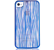 stripe radium caso talla para el iPhone 4/4S (colores surtidos)