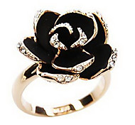 Women's Korean Version Floral Ring