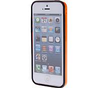 Doppelte Farben TPU Bumper Rahmen für iPhone 5C (Optional Farben)