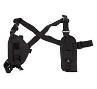 Seven-Pieces Combination Portable Multipurpose Tool Belt Bag - Black