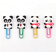 Cartoon Shaped Paper Clips(4 PCS)