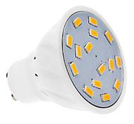 4W GU10 Focos LED 15 SMD 5730 300-330 lm Blanco Cálido AC 100-240 V