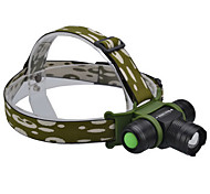 SingFire SF-812 5-Mode Cree XM-L T6 LED Headlamp (800LM, 1x18650, Black+Green)