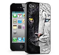 modello di gatto caso effetto 3d per iphone4/4s