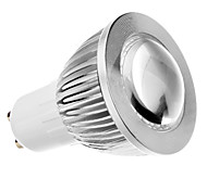 Spot Lights , GU10 5 W COB LM Warm White AC 85-265 V