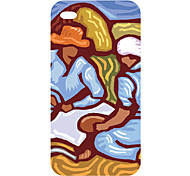 New Technology caldo di vendita 3D copertura della cassa del telefono cellulare colorato scultura per iphone4/4s 3