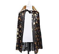 Black $ Gold Cloak for Halloween (Large)
