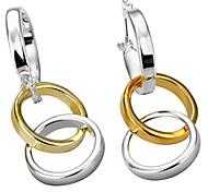 Fashion Three Circles Earrings