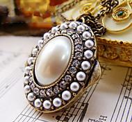 Lange Perlenkette Retro-Pullover Kette weiblichen moonlightchest