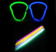 DIY Halloween Skull Glasses with 10PCS Noctilucent Sticks(Random Color)