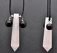 Uzumaki Natural Pink Crystal Cosplay Necklace