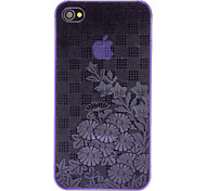 Abweichungen Lotus Embossed Ultradünne PC Hard Case für iPhone 4/4S (Optional Farben)
