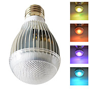 7W Lâmpada LED RGB com controle remoto