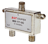 1 to 2 Coaxial TV Cable TAP Direction Coupler (5-1000Mhz)