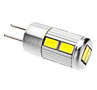 Faretti LED 10 SMD 5730 G4 5W 350-380 LM Luce fredda AC 12 V